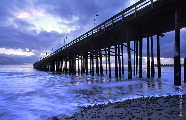 Ocean piers for Ventura pier fishing